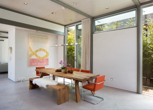 Contemporary Dining Room by Dawson & Clinton