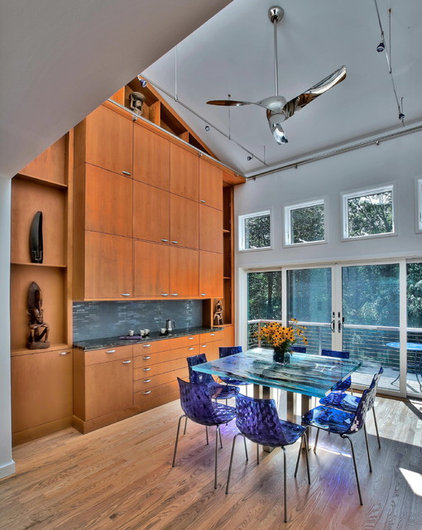 Modern Dining Room by Alex Esposito AIA, Architects