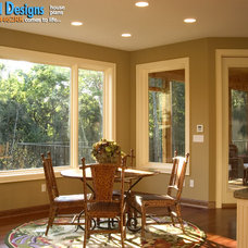Craftsman Dining Room by Architectural Designs