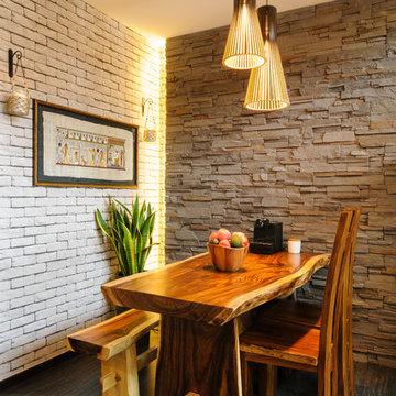 Executive Condominium (Rustic French Cottage theme)