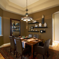 asian dining room by Kerrie L. Kelly
