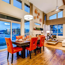 Contemporary Dining Room by Wonderland Homes
