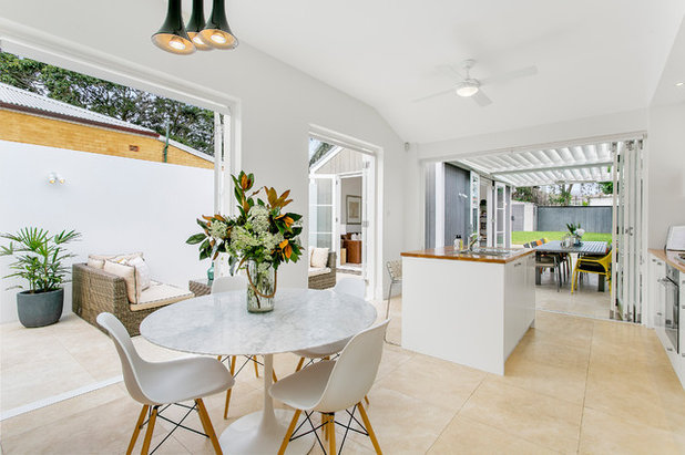 Contemporary Dining Room by Cordony Designs