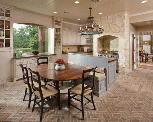 interior brick pavers flooring