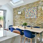 Knightsbridge Apartment Contemporary Dining Room