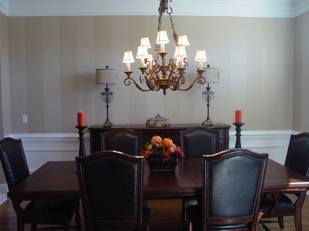 Traditional Dining Room by Decorative Painting by Becky Trapp