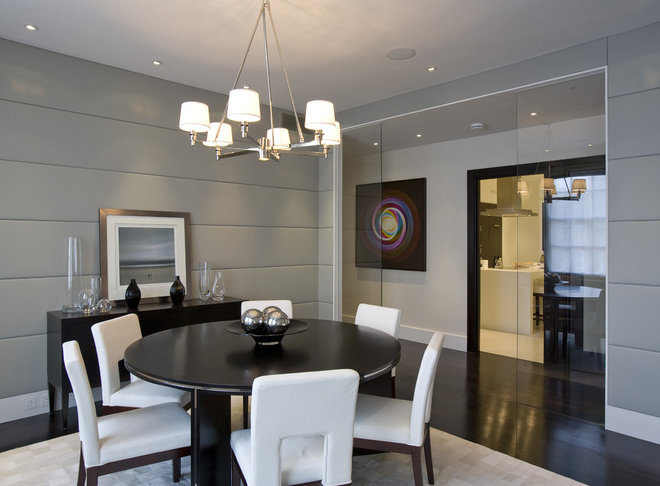Contemporary Dining Room by Fabulous Interior Designs, LLC.