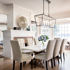 Traditional Dining Room by Stone Creek Builders