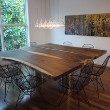 contemporary dining room by Dorlom Construction