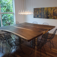 modern dining room by Dorlom Construction