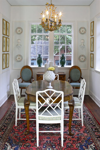 Traditional Dining Room by Walter Studio Interior Design