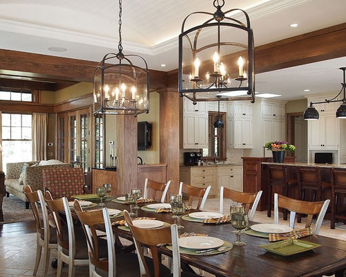 Tray Ceiling Dining Room Ideas & Photos | Houzz