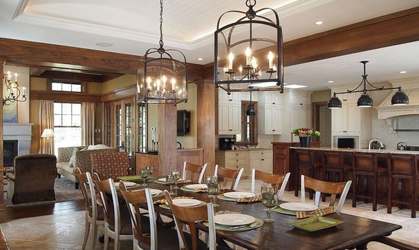 Rustic Kitchen by Chip Webster Architecture