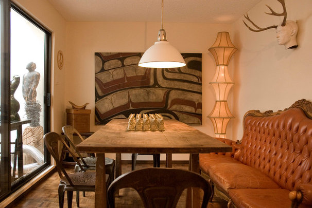 Eclectic Dining Room by Heather Merenda