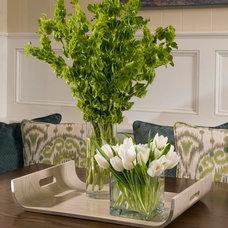 Contemporary Dining Room by Liz Carroll Interiors