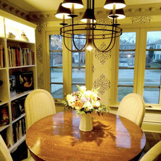 Traditional Dining Room by Cynthia Taylor-Luce