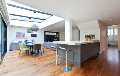 Bring Pillars Into Play in Your Kitchen