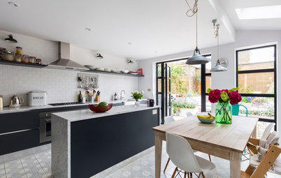 Houzz Tour: Scandinavian Reboot in a 19th-Century London Home