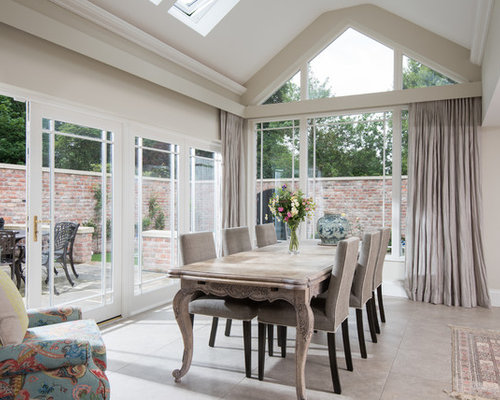 This Is An Example Of A Traditional Enclosed Dining Room In Belfast With Beige Walls And