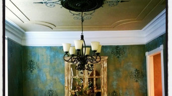 fantastic faux dining room