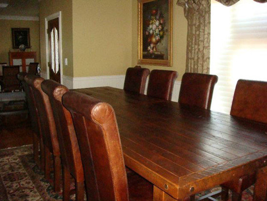 handcrafted dining room furniture wood manufacturers eclectic