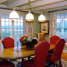 Farmhouse Dining Room by Rocky Mountain Homes