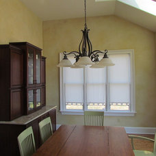 Traditional Dining Room by A.L.M. Custom Painting