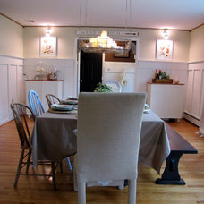 Farmhouse Dining Room by The Painted Home