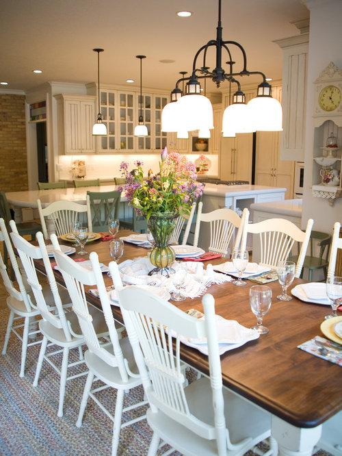 beach style dining room idea in salt lake city