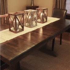 Farmhouse Dining Room by Lily-Max Designs
