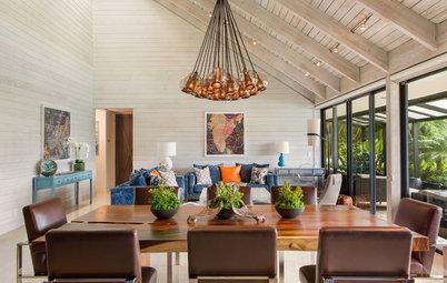 Houzz Tour: Tropical Vibes and Color Create a Beachy Getaway