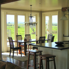 Farmhouse Dining Room by Madson Design