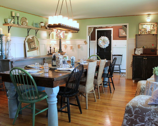Farmhouse Dining Table Houzz