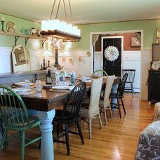 Farmhouse Dining Room by Sara Bates