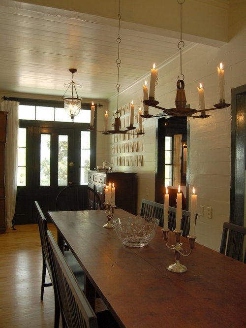 Farmhouse Dining Room Home Design Ideas Pictures Remodel