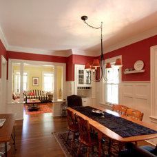 Farmhouse Dining Room by Eric H. Gjerde AIA