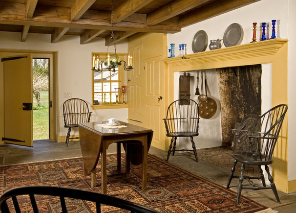 Farmhouse Dining Room by Fredendall Building Company