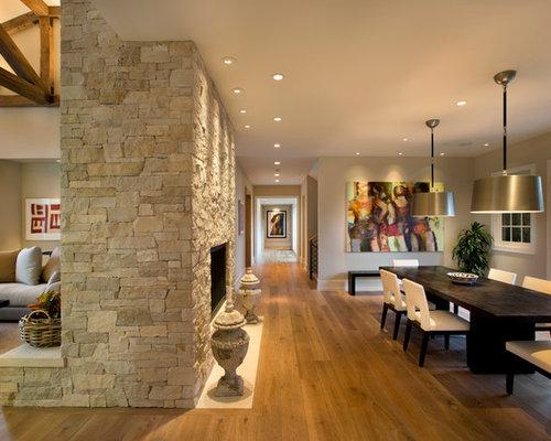 Double Sided Fireplace Houzz