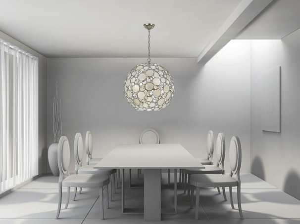 Modern Dining Room by Northwest Lighting and Accents