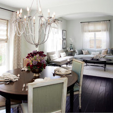 Traditional Dining Room by Plural Design Inc.