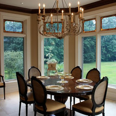 Traditional Dining Room by M J Pawlowski