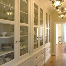 Traditional Dining Room by GEGG DESIGN & CABINETRY