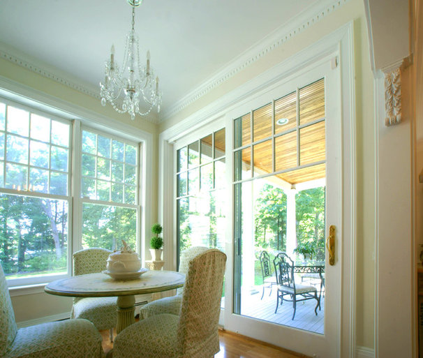 Traditional Dining Room by Cummings Architects