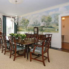 Traditional Dining Room by Design Resource
