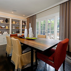 Contemporary Dining Room by DANE AUSTIN DESIGN