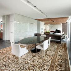 Modern Dining Room by Davignon Martin Architecture