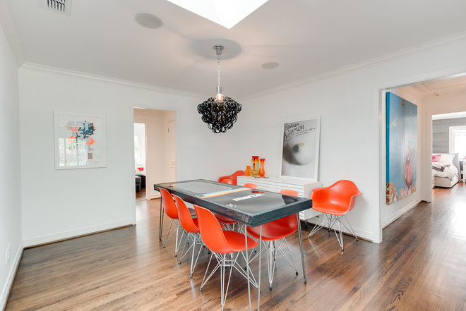 Contemporary Dining Room Finished House