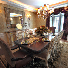 Traditional Dining Room by Finishing Touches Interiors By Design, Inc.