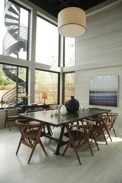 Beach Style Dining Room by Eddie Lee Inc