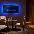 """Heat & Glo - Fireplaces - SimpliFire 58"""" Linear Wall Mount"""